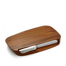 Nambe Cutting Board With Knife