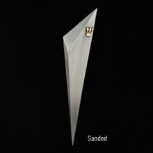 Sanded Mezuzah by Joy Stember