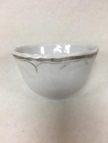 Le Cadeaux White Dessert Bowl