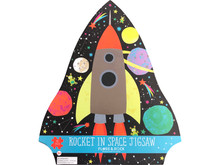 Rocket in Space Jigsaw Puzzle