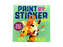 Paint by Sticker Zoo Animals For Kids