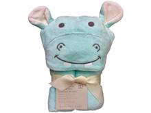 Hippo Bath Towel Wrap