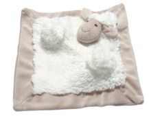 "Allie Sheep Mon Ami Doudou 10 1/2"" Square Soother"