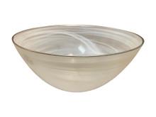 "10"" Glass Serving Bowl"