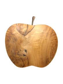 Teak Wood Apple Plate