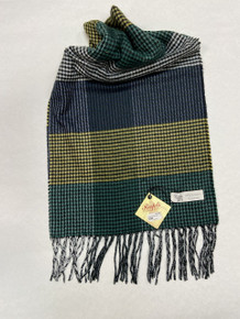 Green Cashmere Scarf by Rapti Fashion