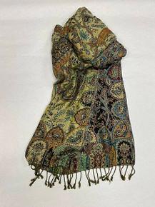 Cashmere-Silk-Viscose Wrap by Rapti Fashion
