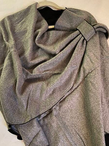 Solid Cashmere Buckle Wrap by Rapti Fashion