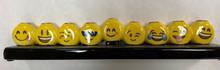 Emoji Menorah