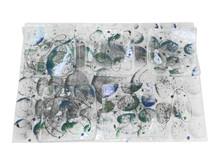 Glass Seder Plate or Serving Set