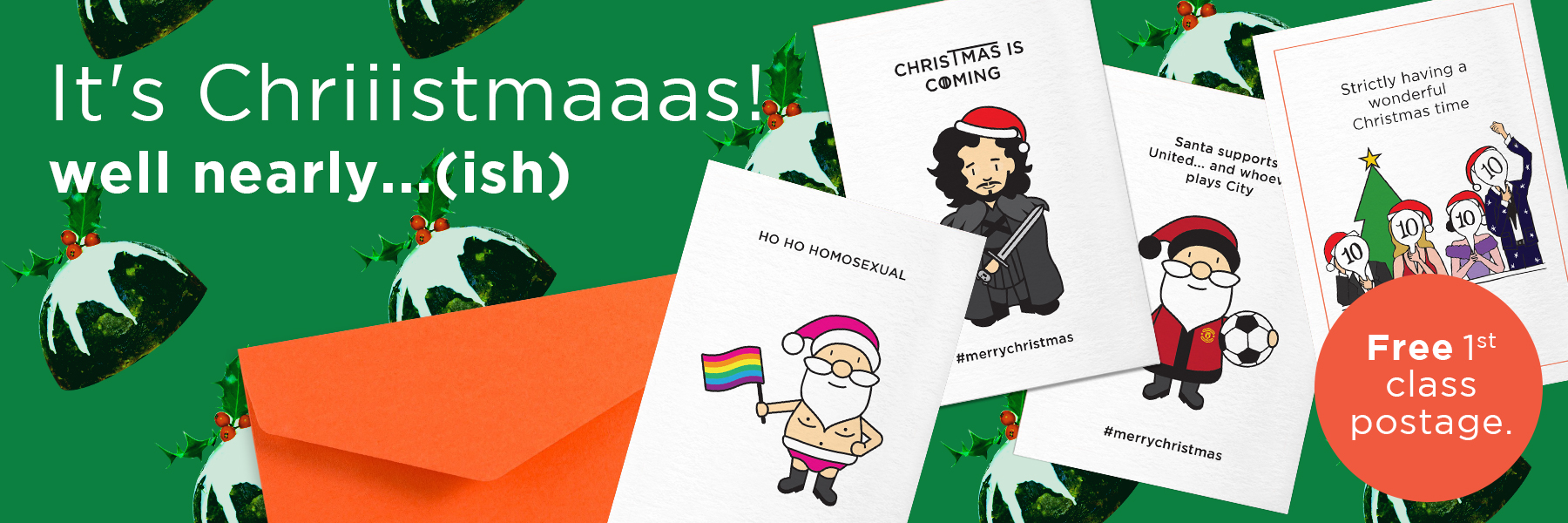Offensive Christmas Cards | Rude, Funny Cards