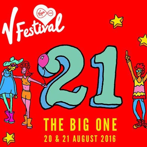 Birthday Cards For V Festival As It Hits 21st Year