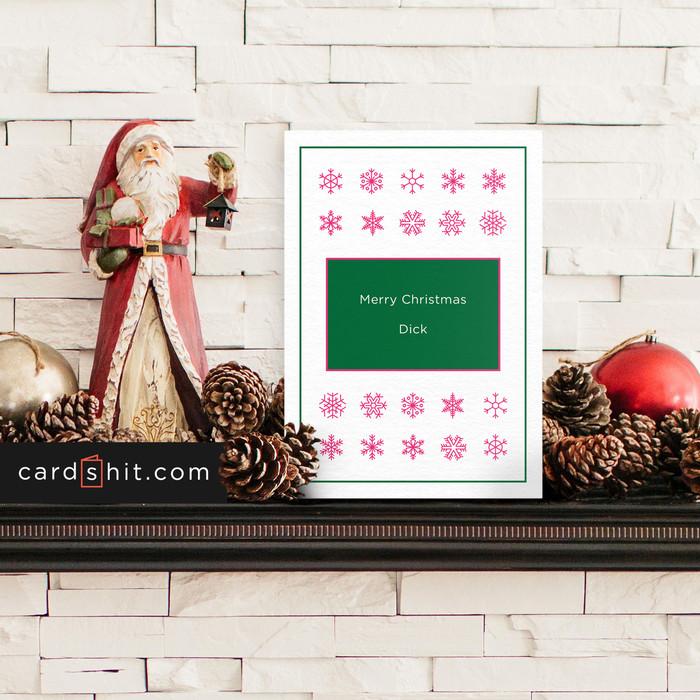 Greeting Cards Christmas Cards Merry Christmas dick