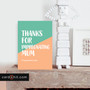 THANKS FOR IMPREGNATING MUM | Rude Father's Day Cards