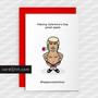 Greeting Cards Valentines Day Cards Making Valentine's Day great again #happyvalentines