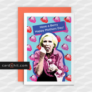 Greetings Cards Mothers Day Cards Have a Berry Happy Mother's Day