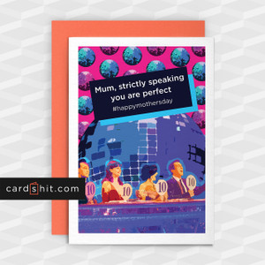 Greetings Cards Mothers Day Cards Mum, strictly speaking you're the best #happymothersday