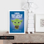 YODA BEST DAD IN THE GALAXY | Star Wars Father's Day Cards