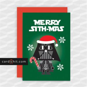 MERRY SITHMAS | Star Wars Christmas Cards