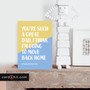 YOU'RE SUCH A GREAT DAD, I THINK I'M GOING TO MOVE BACK HOME | Joke Father's Day Cards