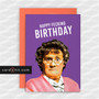 Greeting Cards Birthday Cards Mrs Brown HAPPY FECKING BIRTHDAY