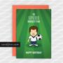 Greeting Cards Birthday Card Football Tottenham Hotspur TO SPURS BIGGEST FAN HAPPY BIRTHDAY