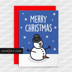 MERRY CHRISTMAS   Rude Christmas Cards