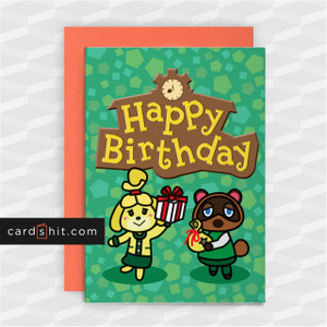 HAPPY BIRTHDAY | Animal Crossing Birthday Cards