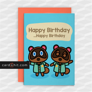 HAPPY BIRTHDAY. HAPPY BIRTHDAY | Animal Crossing Birthday Cards