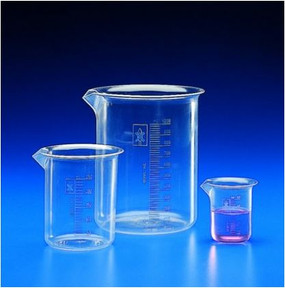 Kartell Low Form Beakers, PMP