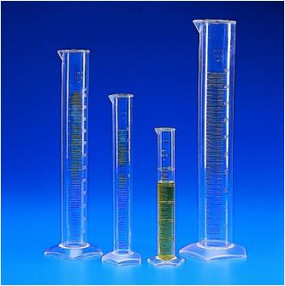 Kartell Graduated Tall Form Measuring Cylinders PMP