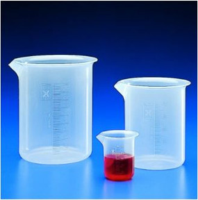 Kartell Graduated Beaker, Low Form PP