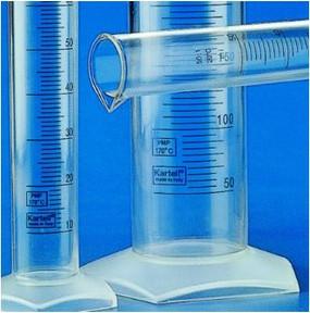 Kartell Blue Grad Measuring Cylinder PMP
