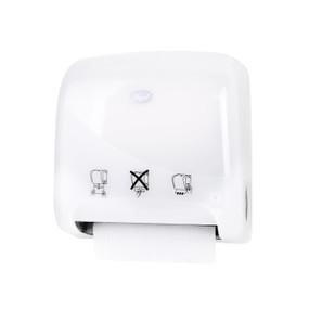 Mini Autocut Hand Towel Dispenser - White