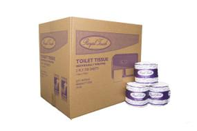 Toilet Tissue Individually Wrapped 400 x 2ply