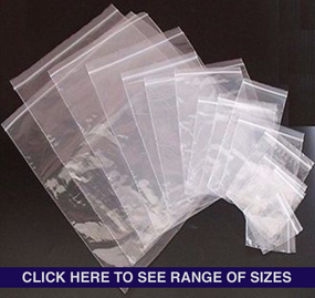 Resealable Zip Lock Bags