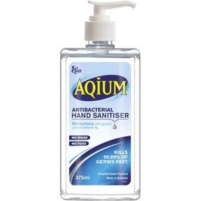Aqium Antibacterial Hand Gel - 375mL