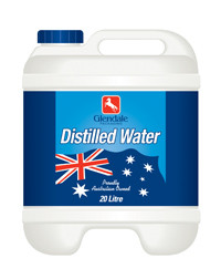 Distilled Water 20L