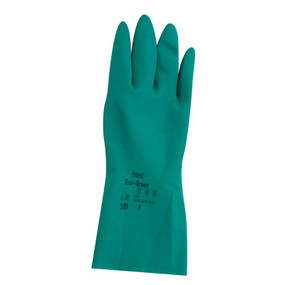 EcoGreen Nitrile Flocklined Gloves