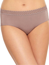 b.tempt'd Tied in Dots Brief Panty (978238), Antler