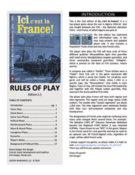 Ici, c'est la France! Upgrade Kit - INT (shipping included)