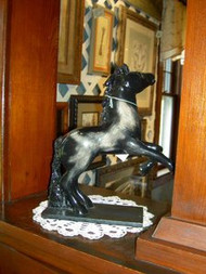 Marblelithe Arrogant Horse Sculpture by Suzanne and Larry Vittone
