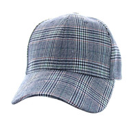 SP351 Blank Cotton Velcro Cap (Solid Grey)