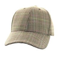SP351 Blank Cotton Velcro Cap (Solid Brown)