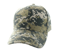 VP019 Blank Baseball Velcro Cap (Solid Digital Camo)