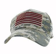 VM367 American USA Flag Velcro Cap (Digital Camo)