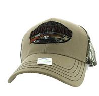 VM504 Hunting Outdoor Sports Velcro Cap (Khaki & Hunting Camo)