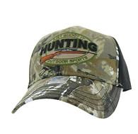 VM504 Hunting Outdoor Sports Velcro Cap (Hunting Camo & Black)