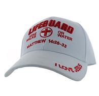 VM007 Life Guard Velcro Cap (Solid White)