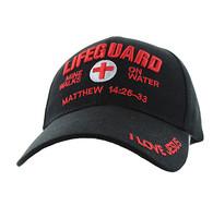 VM007 Life Guard Velcro Cap (Solid Black)